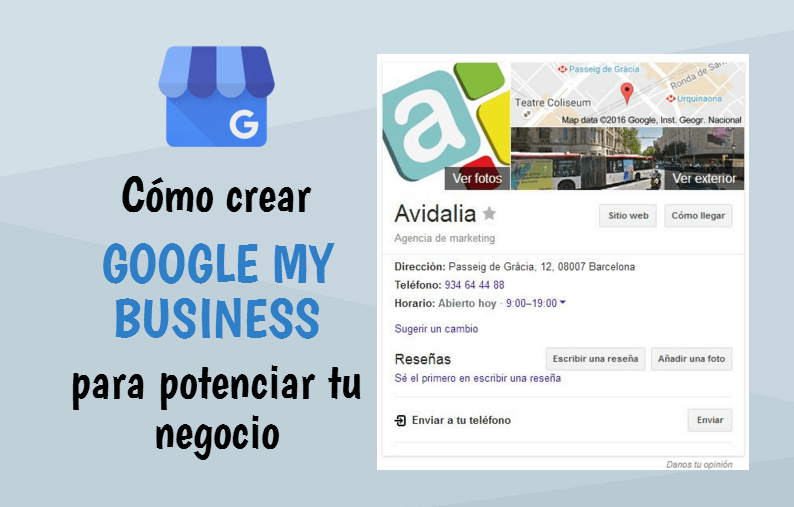 Como crear Google My Business